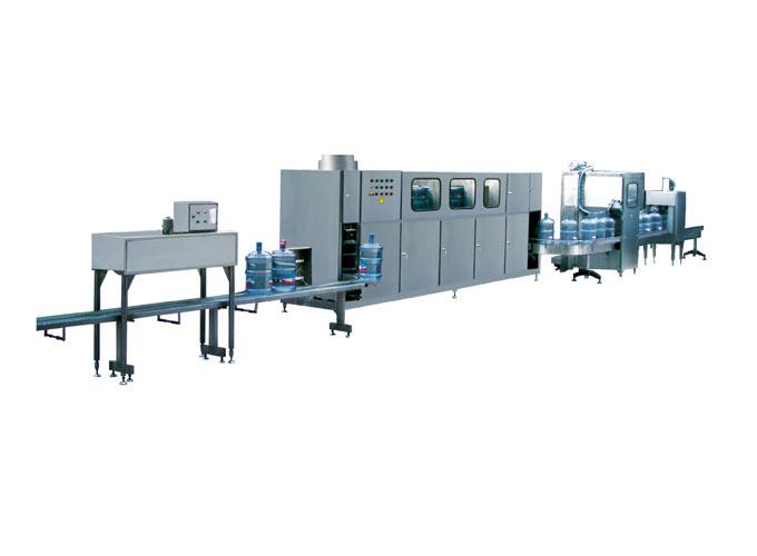 全自动桶装水生产线_灌装机生产线